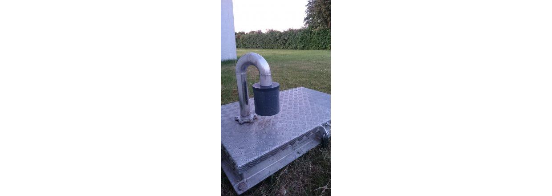 Forbedret luftfilterløsning til vandværker